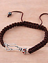 Bracelet réglable Mode Handwoven chat DIY (couleur aléatoire)