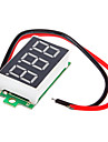 Ultra-Small Syc430X! with Reverse Polarity Protection \ 4.0 30V (Two-Wire) Car \ Motorcycle Digital Voltmeter