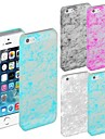 Glow in Dark Silk Pattern Hard Back Case for iPhone 5/5S (Assorted Colors)