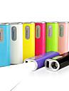 bateria externa banco do poder sin0ele2600mah para iphone 6 iphone 6 plus / ipad / samsung / dispositivo móvel