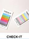 Arco iris de colores diseño nota pad