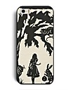 Elonbo J1U Fashion Cute Alice Hard Back  Case Cover for iPhone 5/5S