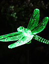 Solar Color-Changing Dragonfly Garden Stake Light(CSS-57273)
