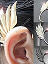 Punk (Wing Shape)  Alloy Ear Cuffs(Gold,Silver) (1 Pc)