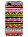 Colorful Polígono Hard Case Totem para iPhone 4/4S