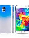 Для Кейс для  Samsung Galaxy С узором Кейс для Задняя крышка Кейс для Градиент цвета PC Samsung S5