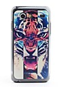 Tiger Head Pattern Védő PVC Vissza tok Samsung Galaxy S Advance I9070