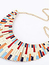 Varies Length Bar Brief Paragraph Alloy Necklace (Assorted Colors)