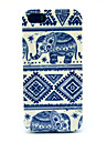 Design Pattern Especial Elephant Back Case para iPhone 5/5S