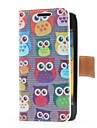 Совы Стиль кожаный чехол с карт памяти и ПОВ по Samsung Galaxy S Advance i9070