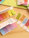 Gradiente de color del arco iris lados dobles Mismo Palo Nota