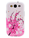 Wintersweet Pattern TPU Soft Case Cover for Galaxy S3 I9300