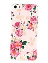 Charming Flowers Pattern PC  Hard Case for iPhone 5/5S