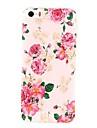 Flores de Charme Padrão Hard Case para iPhone 5/5S PC