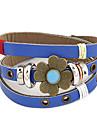 Bracelet en cuir de modèle Clover multi-ligne Vintage (couleurs assorties)