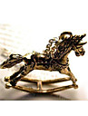 Vintage Hobbyhorse Shape Alloy Pendant Necklace (1 Pc)