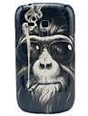 Носить очки из Футляр орангутанги Pattern ПК для Samsung Galaxy S3 Mini I8190
