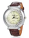 Damska Diament Case PU Zespół Quartz Wrist Watch (różne kolory)