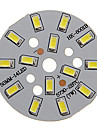 7W 600-650lm Cool White luz 5730SMD modulo de LED integrado (21-24V)