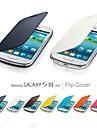 флип фолиант пу случай для Samsung Galaxy SIII i8190 мини (разных цветов)