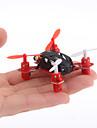 Menor RC Quadcopter 2.4G 4ch Nano-tamanho do mundo com giroscópio