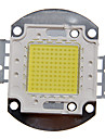 zdm ™ diy 100w alta potencia 8000-9000lm luz branca modulo legal LED integrado (32-35v)