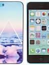 아이폰 5C를위한 아름다운 일몰 구름 패턴 PC 하드 케이스