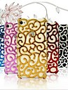 Hollow Vines Flower Electroplating Case for iPhone 5/5S