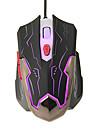 LED KN-330 Maiusc High Definition Optical Gaming Mouse Wired (800/1200/1600/2400DPI)