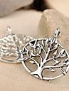 Eruner®27*27MM Alloy Life Tree Charms Jewelry DIY(5pcs)