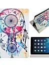 Windbell Motif polyuréthane Housse en cuir complet du corps avec support pour iPad Air