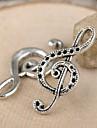 eruner®32 * charmes 15mm alliage de notation musicale pendentifs bijoux bricolage (10pcs)