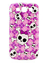 Pink Girl Skull Pattern Case Cover for Galaxy 3 I9300