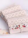 Стильные конверты для кредитных карточек, 20 карточек, случайный цвет