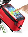 ROSWHEEL® Borsa da bici #(1.5)LMarsupio triangolare da telaio bici / Bag Cell PhoneImpermeabile / Asciugatura rapida / Antipolvere /
