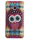 Hard Case Hibou conception de diamant PC pour HTC UN M7