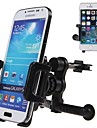 автомобиль отверстия мобильный телефон кронштейн клип для iPhone / Samsung / других мобильных телефонов