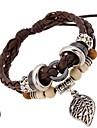 charme en cuir bracelets bracelet en cuir perle