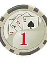 Croustilles $ 1 15g blanc abs de mahjong divertissement jouets