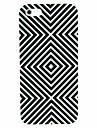Футляр черный и белый абстрактный узор для iPhone 5/5S