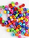 arco-íris colorido tear elástico diy contas cor pingente de doces