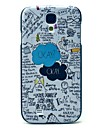 Ok Cartoon Pattern Hard Case for Samsung Galaxy S4 I9500 Galaxy S Series Cases / Covers