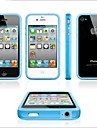 Solid Color Bumper Case for iPhone 4/4S (Assorted Colors)