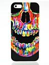 Crânio padrão colorido fresco para o iPhone 5/5S