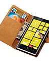 Genuine Leather Wallet Case for Nokia Lumia 925 Stand with Credit Card Holder New Arrival