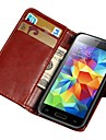 Retro Book Style PU Leather Case for Samsung Galaxy S5 Mini G800 Wallet