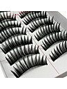 Eyelashes lash Eyelash Lengthens the End of the Eye Volumized Fiber