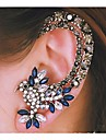 Women\'s Ear Cuffs Luxury Fashion Costume Jewelry Rhinestone Alloy Animal Shape Bird Jewelry For Wedding Party Daily Casual