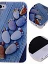 Cartoon Stones Footprints Pattern Hard Case for iPhone 4/4S