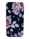 Stylish Flower Pattern Diamond Hard Case for iPhone 4/4S
